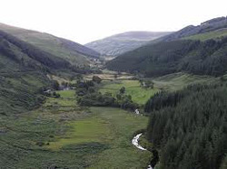 Wicklow Valley in Ireland
